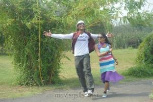 Rajkamal, Maheswari in Jolly Ga Enjoy Cheddam Movie Stills