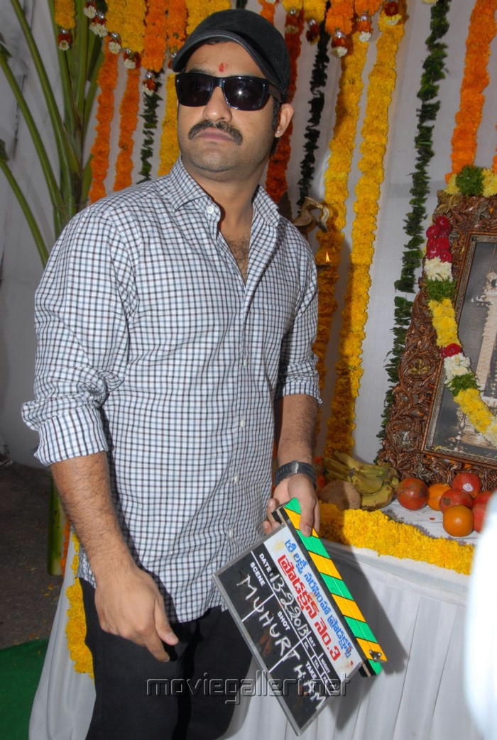 NTR Latest Photos at Rabasa Movie Launch