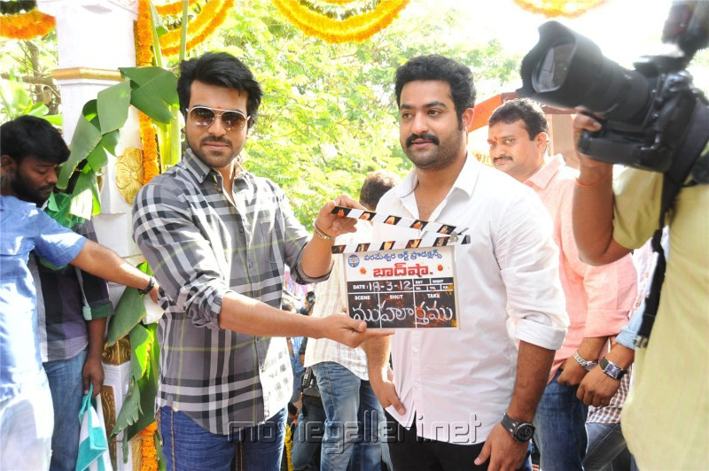 Jr NTR Badshah Movie Launch Stills