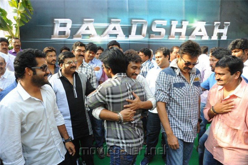 Jr NTR Badshah Movie Opening Stills