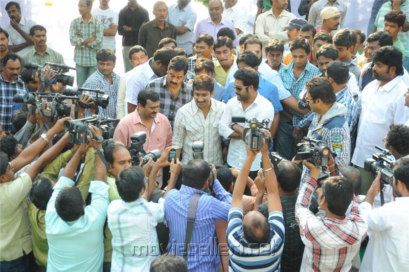 Jr NTR Badshah Movie Launch Stills