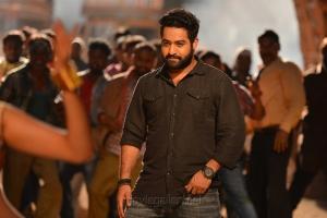 Actor Jr NTR Pics in Pakka Local Song Janatha Garage