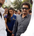 Jr NTR Lakshmi Pranathi visits Tirupati Temple Photos