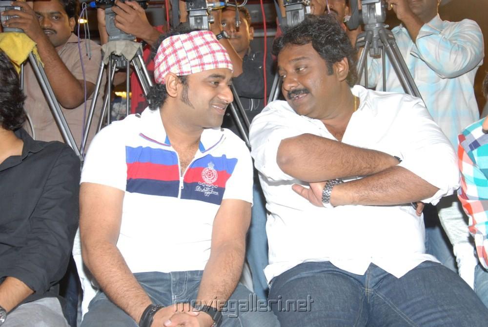 Devi Sri Prasad, VV Vinayak at Julayi Platinum Disc Function Stills