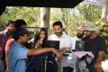 Ileana, Trivikram Srinivas at Julayi Working Stills