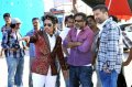 Trivikram Srinivas, Peter Hein at Julayi Working Stills
