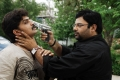 Ravi Kiran, Krishnudu in Jumbo Crime Story Telugu Movie Stills