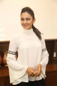 Actress Rakul Preet Singh @ Junior Kuppanna Restaurant Launch Raidurgam Photos