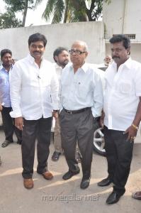 K.Balachander at JV Media Dreams Production Launch Photos