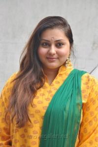 Actress Namitha at JV Media Dreams Production Launch Stills