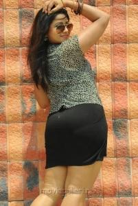 Telugu Actress Jyothi Hot Stills in Short Dress