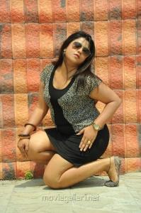 Telugu Character Artist and Item Girl Jyothi in Hot Short Dress