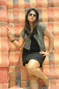 Telugu Actress Jyothi Latest Stills in Hot Short Dress