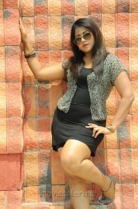 Telugu Actress Jyothi Hot Photos in Short Dress