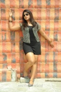 Jyothi Telugu Actress Hot Stills in Short Dress