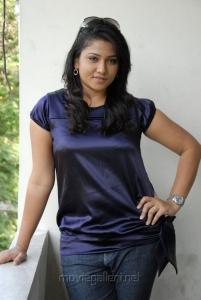 Jyothi in Blue Dress Photo Shoot Stills