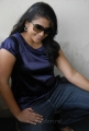 Telugu Actress Jyothi in Blue Dress
