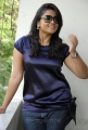 Actress Jyothi in Blue Dress Hot Pics
