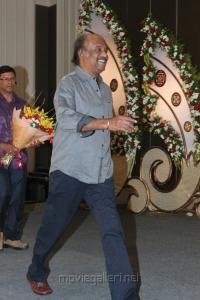 Rajinikanth at Jyothi Krishna Aishwarya Wedding Reception Stills