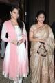 Trisha with mother Uma Krishnan at Jyothi Krishna Aishwarya Wedding Reception Stills