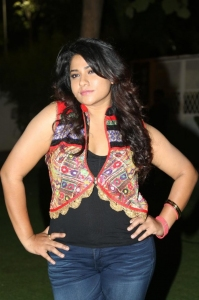 Actress Jyothi Stills at Mosagallaku Mosagadu Audio Launch