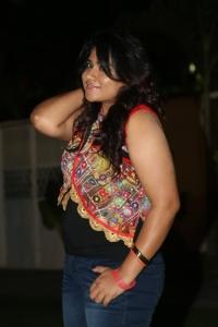 Actress Jyothi Hot Stills at Mosagallaku Mosagadu Audio Launch