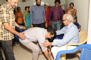 Kamal Hassan @ K Balachander Birthday Celebration Stills