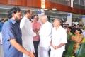 Rajinikanth @ Director K Balachander's 13th Day Ceremony Stills