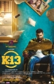 Arulnithi in K13 Movie Release Posters