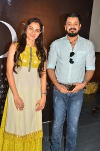 Actress Andrea, Amresh Ganesh @ Kaa Movie Pooja Stills