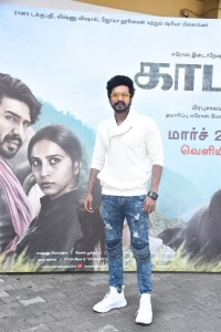 Actor Vishnu Vishal @ Kaadan Movie Trailer Launch Stills