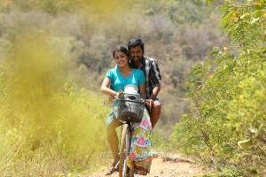 Samskruthy, Vidharth in Kaadu Tamil Movie Stills