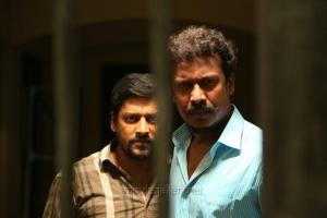 Vidharth & Samuthirakani in Kaadu Tamil Movie Stills