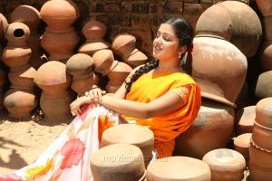 Actress Samskruthy Shenoy in Kaadu Tamil Movie Stills