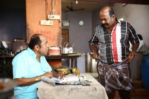 Thambi Ramaiah, Singampuli in Kaadu Tamil Movie Stills