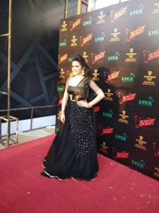 Anchor Dhivyadharshini (DD) @ Kaala Audio Launch Red Carpet Pics