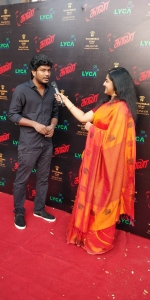 Actor Mani Kandan @ Kaala Audio Launch Red Carpet Pics