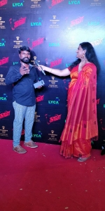 Art Director Rama Lingam @ Kaala Audio Launch Red Carpet Pics