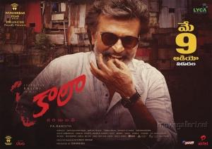 Rajinikanth Kaala Telugu Audio Release Date May 9th Posters