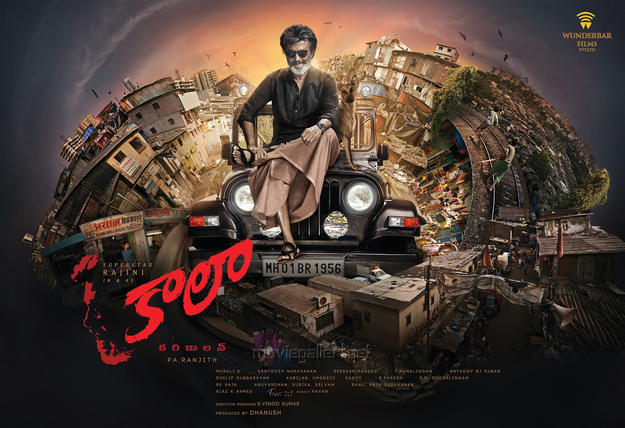Kaala Rajinikanth First Look Wallpapers HD