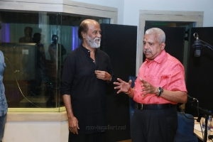 Kaala Movie Rajinikanth Dubbing @ Knack Studios Photos