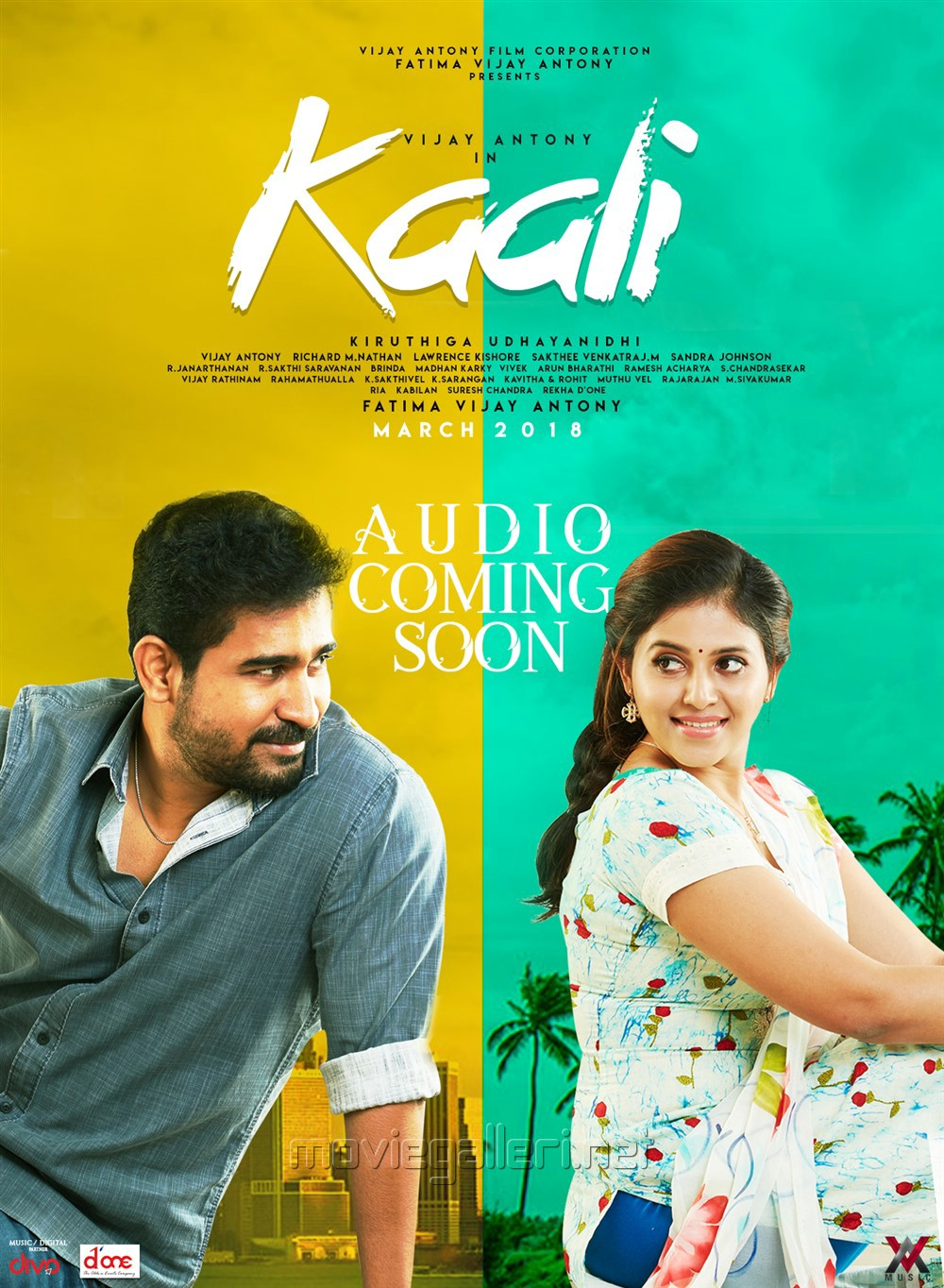 Vijay Antony Anjali Kaali Movie Posters