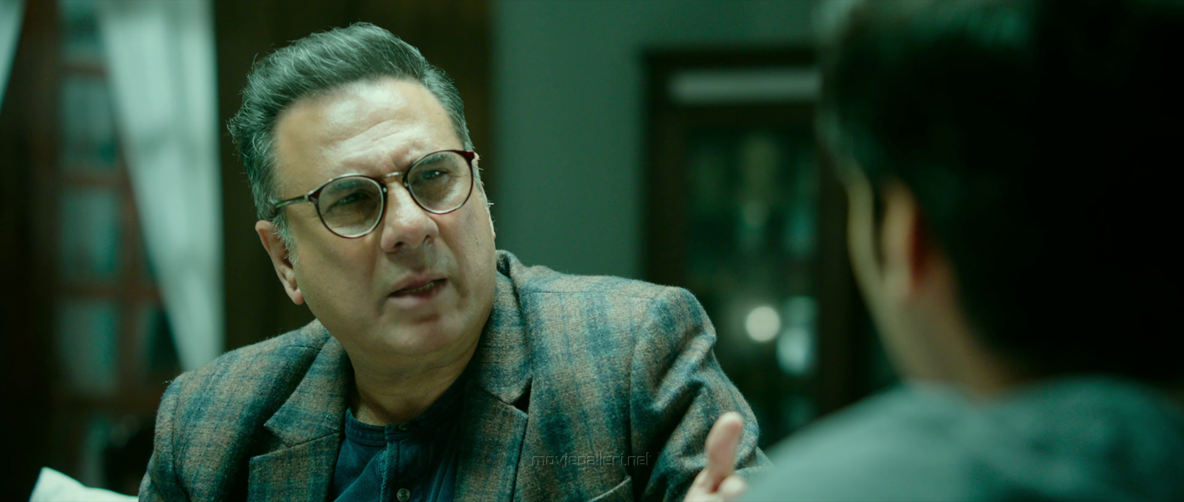 Actor Boman Irani in Kaappaan Movie Pictures HD