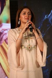 Sayesha Saigal @ Kaappaan Movie Press Meet Photos