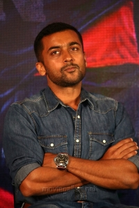 Actor Suriya @ Kaappaan Movie Press Meet Photos