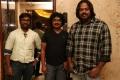 Om Prakash, VJ Sabu Joseph, Gokul @ Kaashmora Movie Press Meet Stills