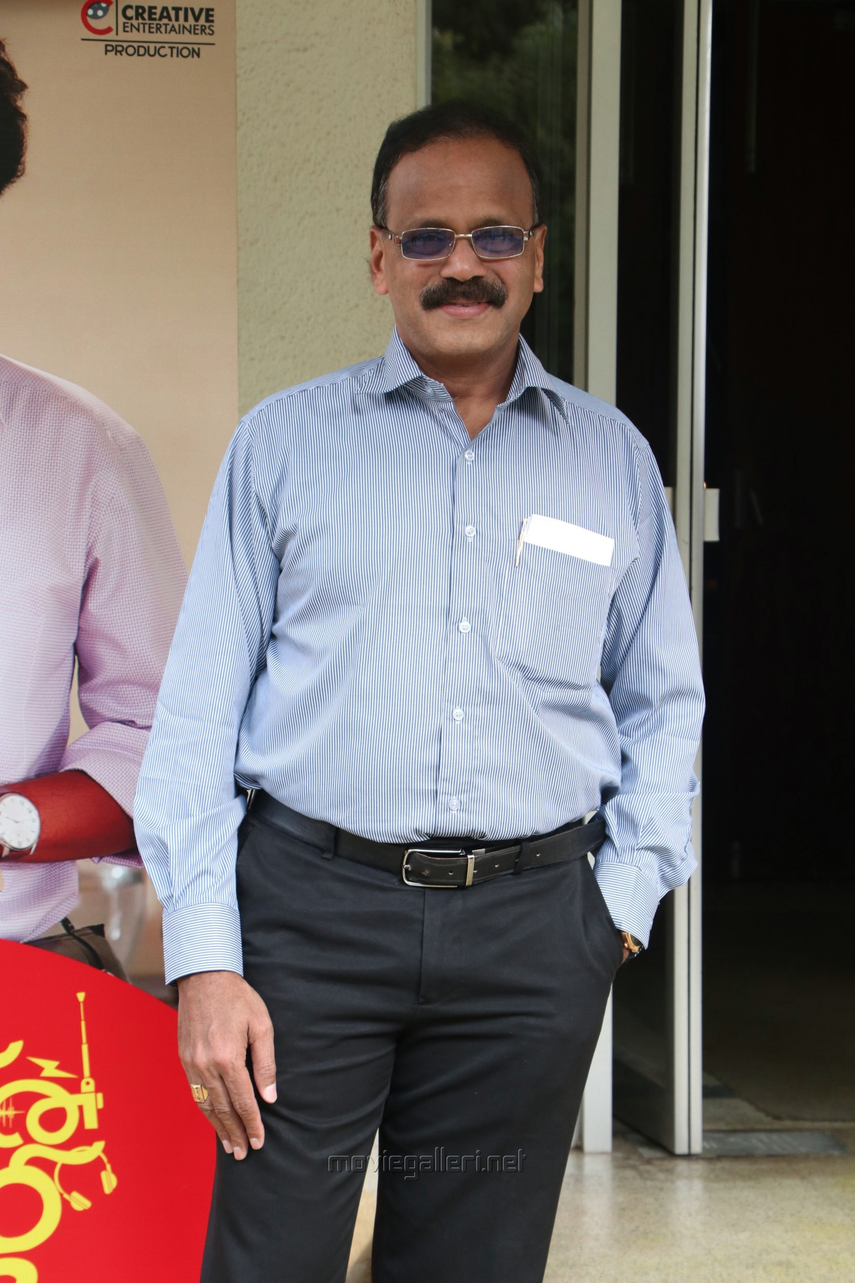 Producer G Dhananjayan @ Kaatrin Mozhi Press Meet Stills