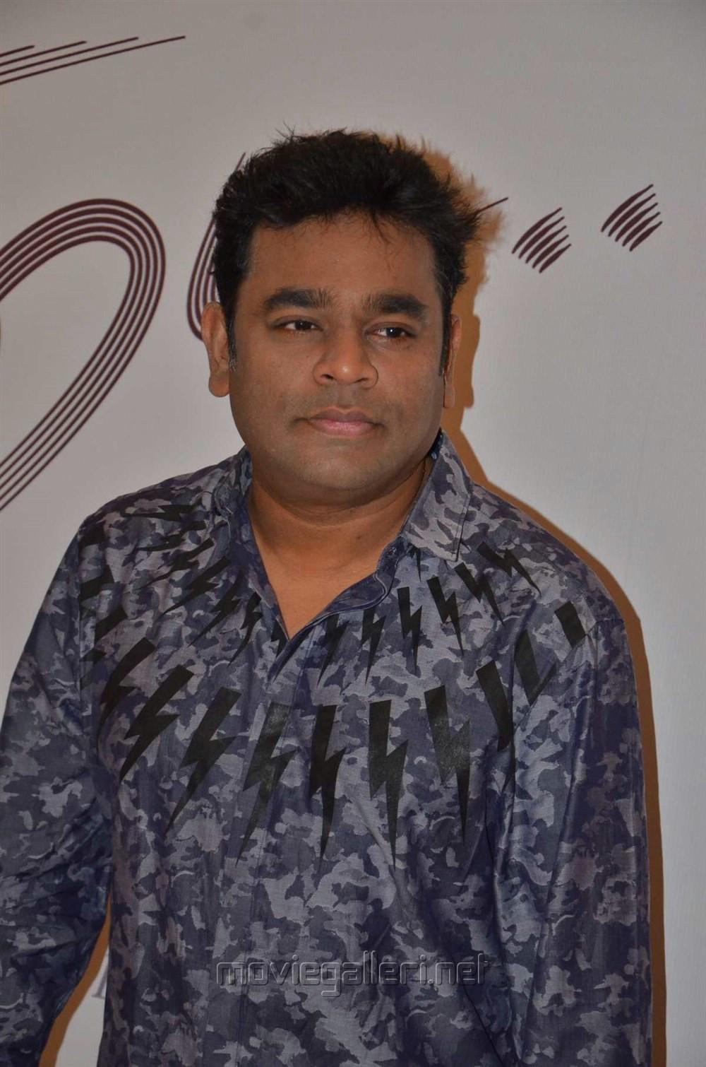 AR Rahman @ Kaatru Veliyidai Audio Launch Stills
