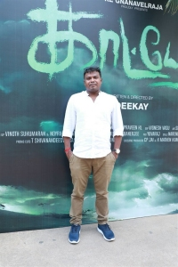 Director Deekay @ Kaatteri Movie Press Meet Stills