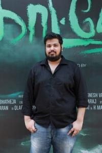 Art Director Senthil Raghavan @ Kaatteri Movie Press Meet Stills